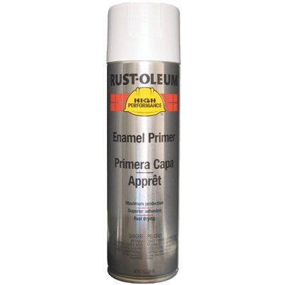 Rust-Oleum High Performance V2100 System Industrial 15 oz. White Clean Metalprimer Enamel Primer