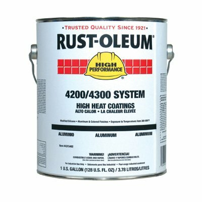 Rust-Oleum High Performance 4200/4300 System High Heat Coatings Heat Resistant Black Paint at Sears.com
