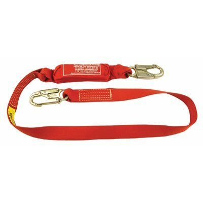 SafeWaze Saturn™ Series Lanyards - 6' coated steel cable with safe stop