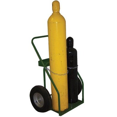 "Saf-T-Cart 800 Series Carts - cart with sc-11 wheels 24"" cylinder capacity"