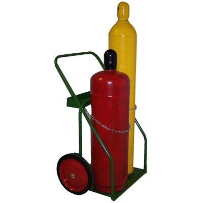 "Saf-T-Cart 900 Series Carts - cart with sc-43 wheel 21"" cylinder capacity"