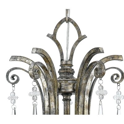 Quoizel Kendra 5 Up Light Chandelier