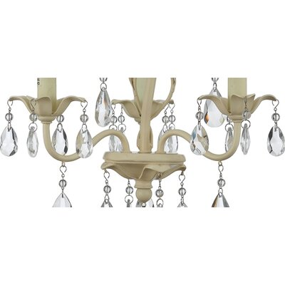 Quoizel Ophelia 3 Light Mini Chandelier
