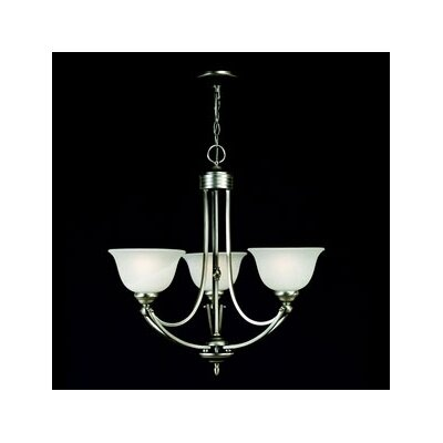 Quoizel Delray 3 Light Chandelier