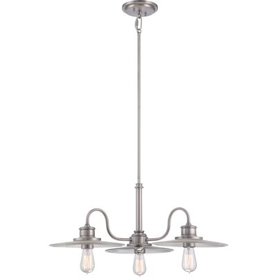 Quoizel Admiral 3 Light Chandelier