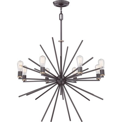 Quoizel Uptown Carnegie 8 Light Chandelier