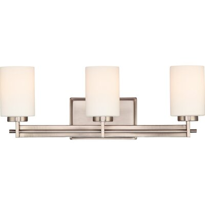 Quoizel Taylor  Vanity Light in Antique Nickel