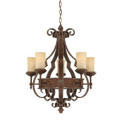 Quoizel Laredo 5 Light Chandelier
