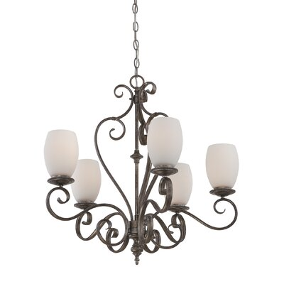 Quoizel Maya 5 Light Chandelier