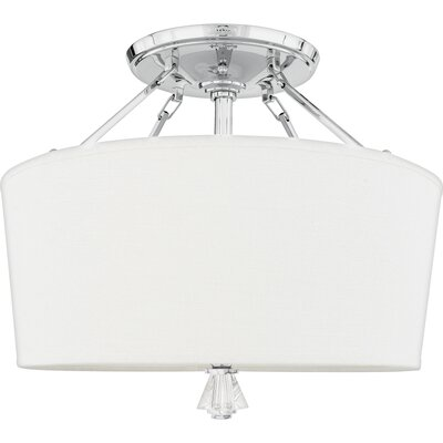 Quoizel Deluxe Semi Flush Mount