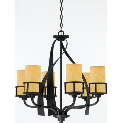 Kyle 6 Up Light Chandelier