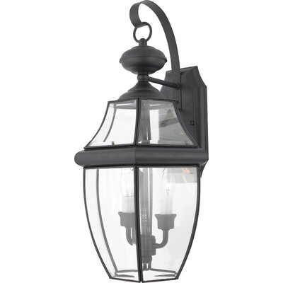 Quoizel Newbury 2 Light Outdoor  Wall Lantern