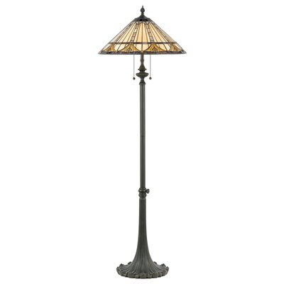 Quoizel Genevieve Tiffany Floor Lamp