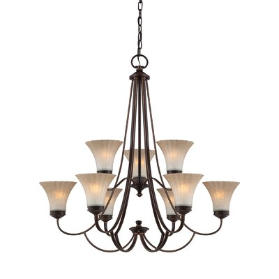 Quoizel Aliza 9 Light Chandelier