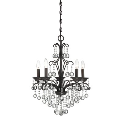 Quoizel Mini Chandelier 5 Light Chandelier