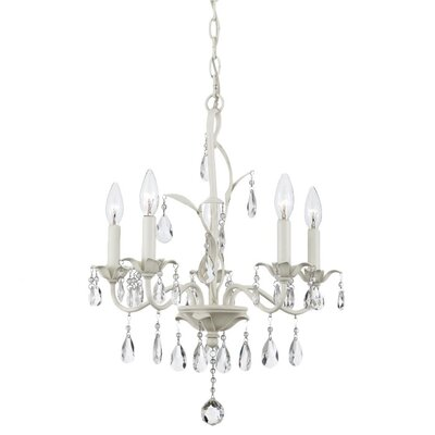 Quoizel Ophelia 5 Up Light Chandelier