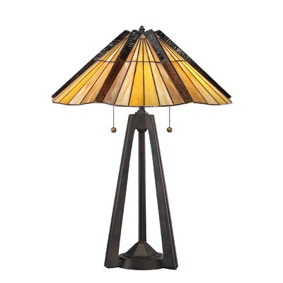 Quoizel Tiffany 2 Light Table Lamp