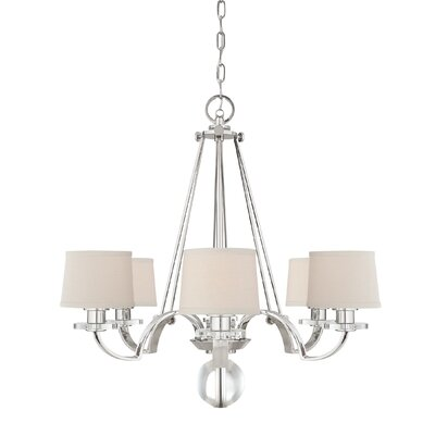 Quoizel Uptown Sutton Place 6 Light Chandelier