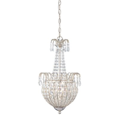 Jolene 3 Light Inverted Pendant