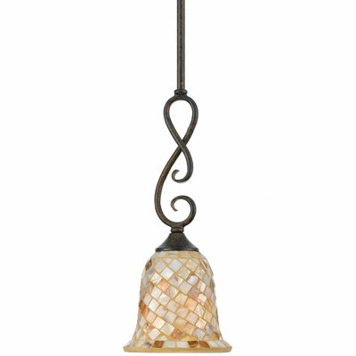 Monterey Mosaic 1 Light Piccolo Pendant