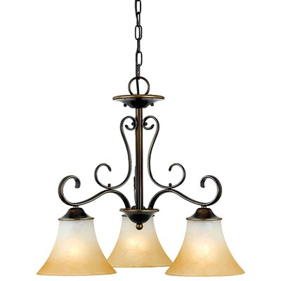 <strong>Quoizel</strong> Duchess 3 Light  Chandelier