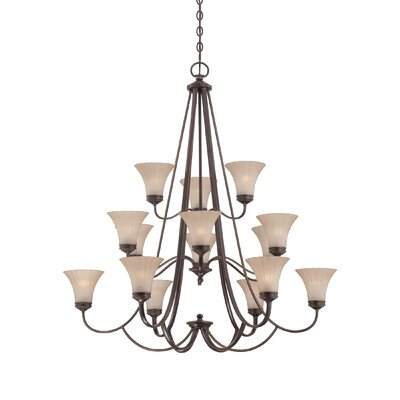 Quoizel Aliza 15 Light Chandelier