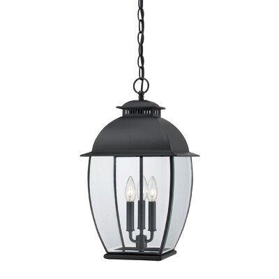 Quoizel Bain 3 Light Outdoor Hanging Lantern