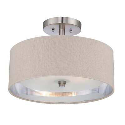 Quoizel Metro 2 Light Semi-Flush Mount
