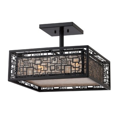 Quoizel Kenner 3 Light Semi-Flush Mount