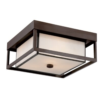 Quoizel Powell 3 Light Outdoor Flush Mount