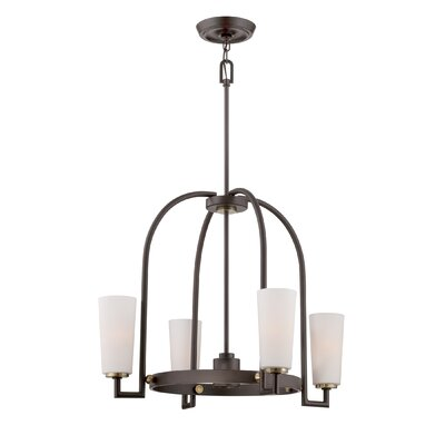 Quoizel Uptown Gramercy 4 Light Chandelier