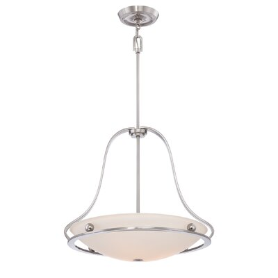 Quoizel Uptown Wall Street 4 Light Pendant