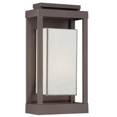 Quoizel Powell 1 Light Outdoor Wall Lantern