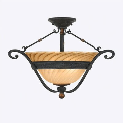 Quoizel Genova Semi Flush Mount