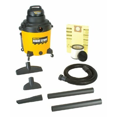Shop-Vac Industrial Wet/Dry Vacuums - 18-gal. 6.0hp shop vac1-stage mot