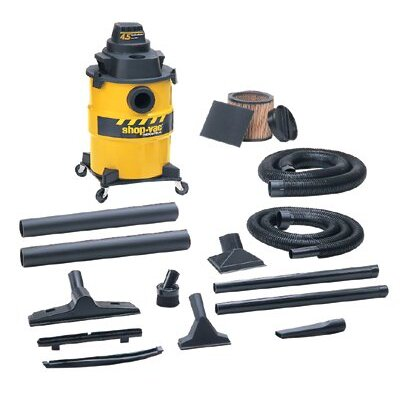 Shop-Vac Industrial Economy Series Wet/Dry Vacuums - 6 gal industrial economywet & dry vac with 4-
