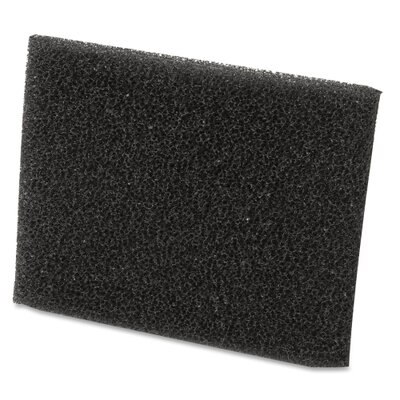 Shop-Vac Filter, Large Foam Sleeve, Black