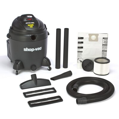 Shop-Vac 20 Gallon 6.5 Peak HP QSP Quiet Deluxe Wet / Dry Vacuum