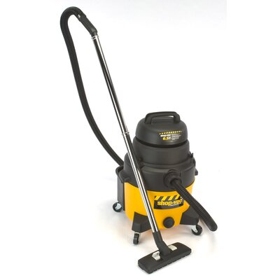 Shop-Vac 8 Gallon 6.5 Peak HP Industrial Super Quiet Wet / Dry Vacuum