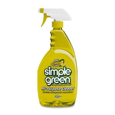 Simple Green All-Purpose Cleaner, Nontoxic, Biodegradable, 24oz, Lemon