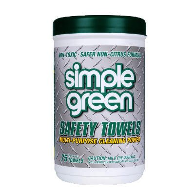 Simple Green Citrus Scented Safety Towels