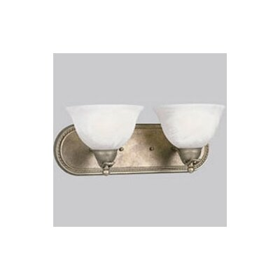 Progress Lighting Avalon Vanity Light in Brushed Nickel