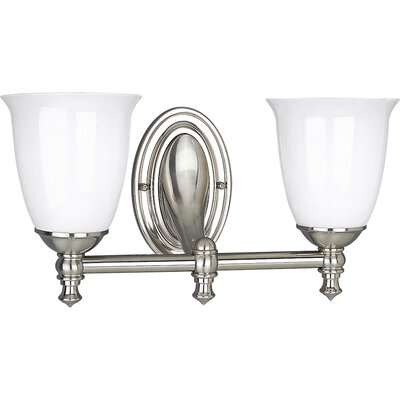 Progress Lighting Victorian  Brushed Nickel  Wall Sconce
