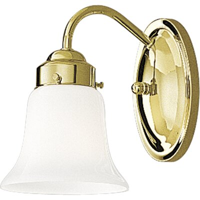 Progress Lighting Polished Brass Wall Sconce