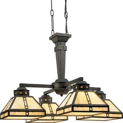 Progress Lighting Arts And Crafts 4 Light Chandelier