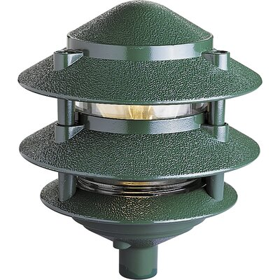 Progress Lighting Aluminum Pagoda Path Light