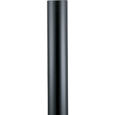 Progress Lighting 7' Black Aluminum Lantern Post