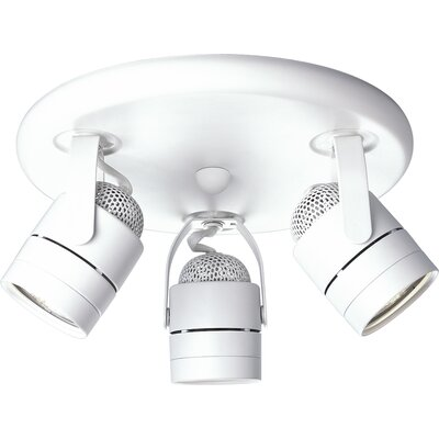 Progress Lighting 50W Pinhole Back Directional Ceiling Semi Flush Mo