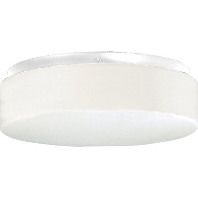 Progress Lighting White Acrylic Contoured Ceiling Cloud