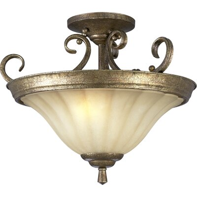 Progress Lighting Le Jardin Semi Flush Mount or Pendant